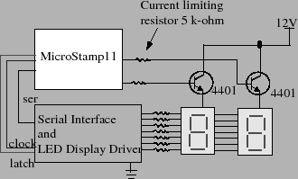 Schematic of Display Circuit
