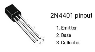 2N4401 pinout