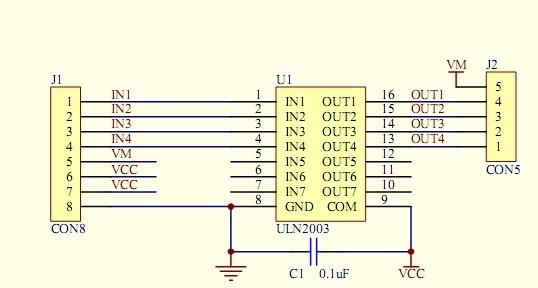 uln2003apg diagram