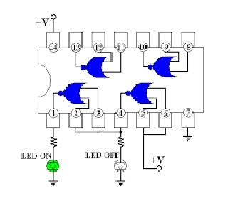 7402 circuit