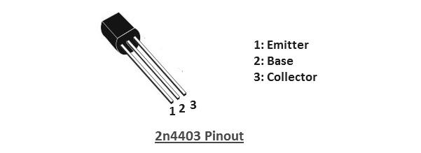 2N4403 pinout